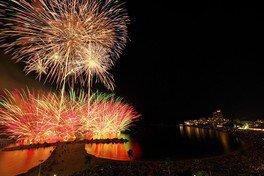 【2020年開催なし】白浜花火大会