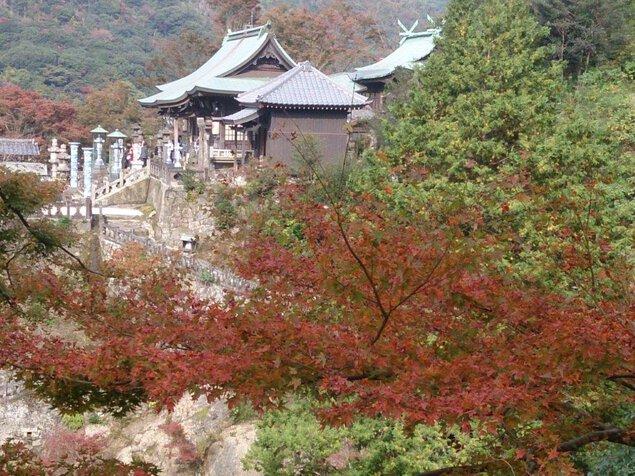 陶山神社の紅葉