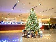 羽田エクセルホテル東急のクリスマスツリー