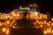 灯の回廊「安塚キャンドルロード」