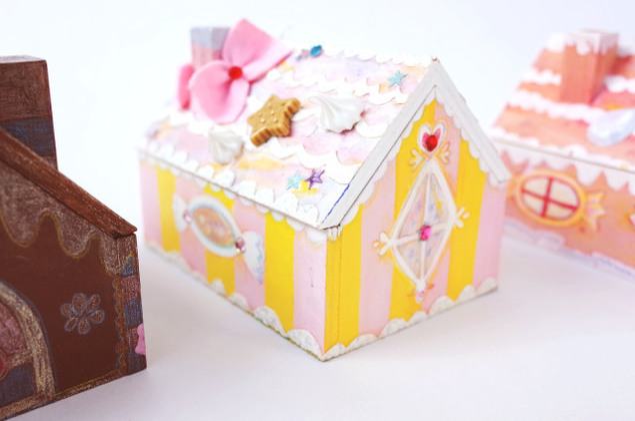 春限定季節メニュー 木の工房「お菓子のおうち箱」
