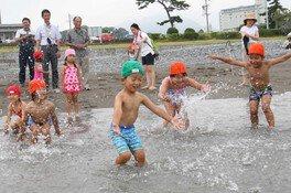【海水浴】浜当目海水浴場