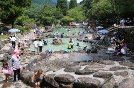 【プール】山国川源流河川プール