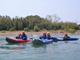 2人乗りラフト(ダッキー)川下り 「利根川リバーツーリング」 関東ぐんまアウトドア体験ツアー