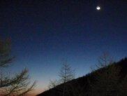 軽井沢・夜景ナイト スノーシュー「ムーンライト月光スノーウォーク」  冬の自然体験