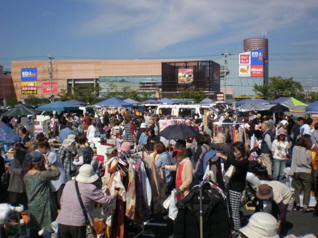 いこらも~る泉佐野フリーマーケット(4月)