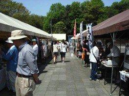 愛知県森林公園里山市場(5月)