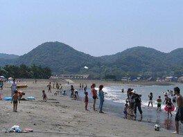 【海水浴】上総湊海水浴場