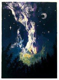 七夕ペイントパーティー、天の川をみんなで描こう