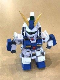 親子ペーパークラフト工作 ロボットをつくろう!