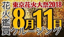 東京花火大祭花火鑑賞クルージング