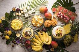 Swiss Chocoholic Tropical Buffet