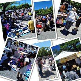 西葛西「新田6号公園」フリーマーケット(9月)