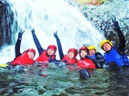 キャニオニング「ぷかぷかキャニオン」長瀞 藤岡 アウトドア自然体験・春夏ツアー