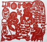 無形文化遺産シリーズ展「中国と日本の切り紙-新年を迎える紙の花」