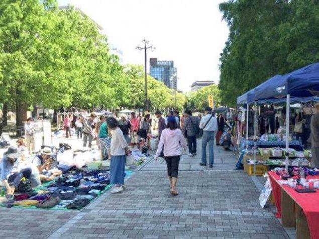 横浜大通り公園 共に生きるふれあいバザー(4月)