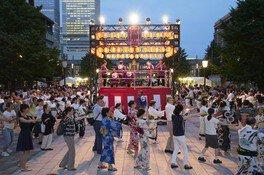 東京丸の内盆踊り2018