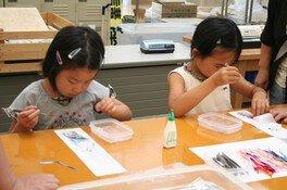 夏休み親子体験教室~押し花教室~