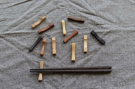 箸置きを作るワークショップ