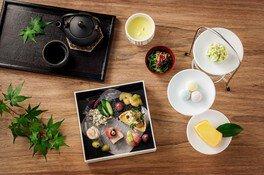 茶寮 八翠×老松  和のアフタヌーンティー