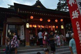 八坂神社六月灯