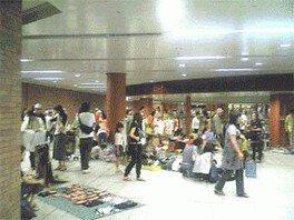 駅ナカフリマ in 馬車道駅(9月)