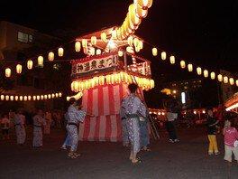 老神温泉・女将と踊る盆踊り