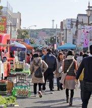 銚子観音・門前軽トラ市 銚子の鍋料理
