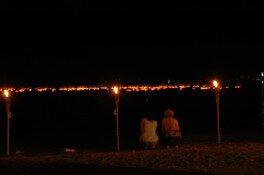 興津湾灯籠流し