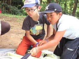 夏休みはじめてキャンプ 〜夏休み 小学生の自然体験〜