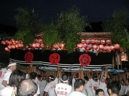 祇園祭(古和浦)