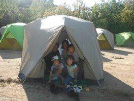 夏休み はじめてのキャンプにチャレンジ!