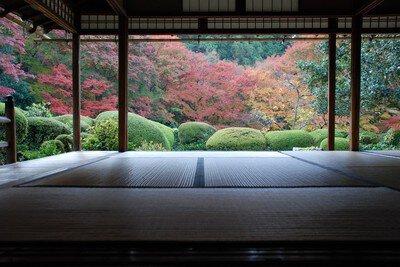 詩仙堂丈山寺の紅葉