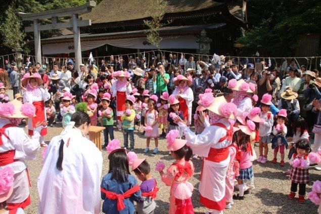 鹿島神宮 御田植祭