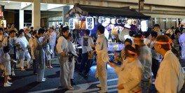 健田須賀神社及び北部市街地