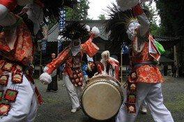 油木亀鶴山八幡神社秋季大祭