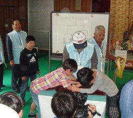 第12回 養老孝子源丞内の会 少年腕相撲大会