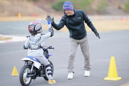 ヤマハ親子バイク教室(大阪岬町)