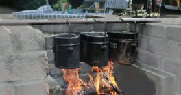 水辺公園 飯ごう炊飯