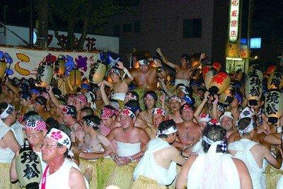 見付天神 裸祭