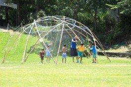 竹ドームの作り方ワークショップ