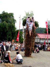 小菅神社例大祭「柱松柴燈神事」