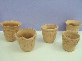 夏休み博物館体験 ミニ土器焼き作り体験