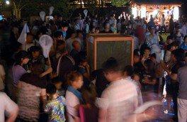 きぬ川ふれあい広場ホタル祭り
