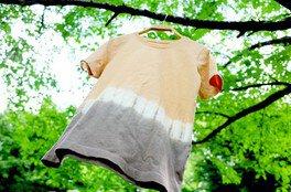 夏の自由研究におすすめワークショップ!「染めの科学を知ろう!ビワの葉染めでTシャツ作り」