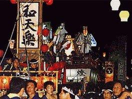 大町・川島祭り