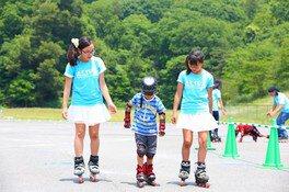 インラインスケート体験会