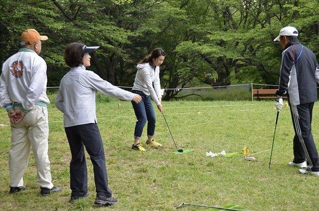 国営昭和記念公園 パークフィットネス ターゲットバードゴルフ(4月)