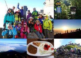 一合目から登る富士山チャレンジ