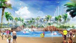 【プール】ジャンボ海水プールに「超 激流プール」が新登場!